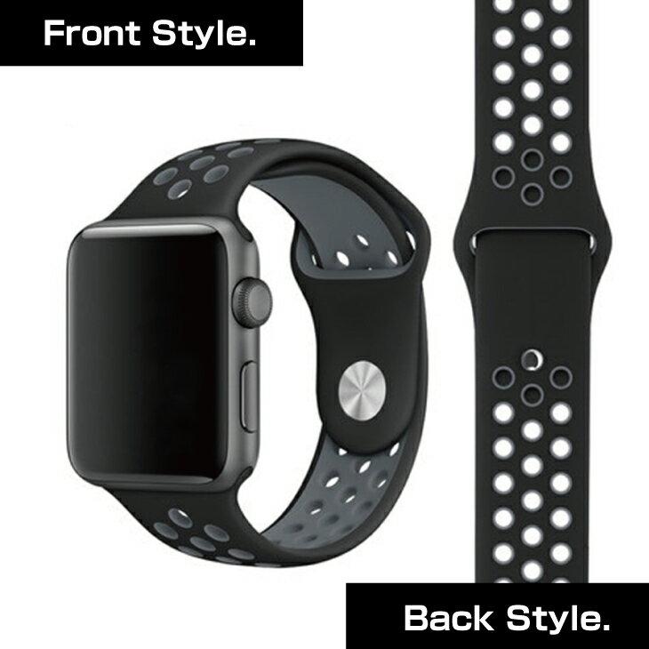 Apple Watch Series2 バンド 42mm シリコン スポーツバンド アップルウォッチ スポーツ交換ベルト ランニング ジョギング Sport ベルト Apple Watch Series 1 対応 42mm シリコン製 ソフトシリコン 38mm