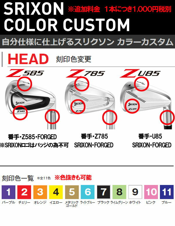 スリクソン NEW ZシリーズZ 785 アイアン [ニューダイナミックゴールド] スチールシャフト 5本セット(#6~PW)  DG95/DG105/DG120 ダンロップ DUNLOP SRIXON iron Z785