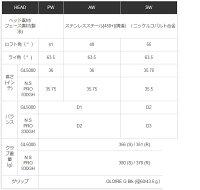 【メーカーカスタム】テーラーメイドグローレエフアイアン6本セット(#5~PW)ダイナミックゴールド/SL/GS95/GS85スチールシャフトTaylorMadeGLOIREFiron