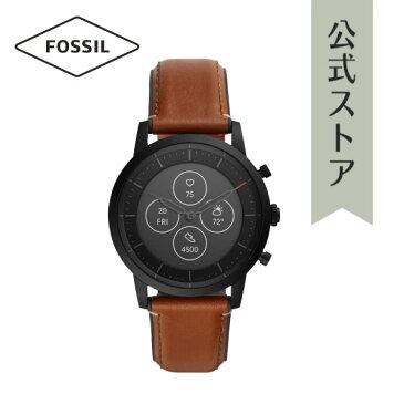 4/29から GW期間限定 ポイント10倍!フォッシル スマートウォッチ ハイブリッドHR メンズ 腕時計 FOSSIL 時計 ウェアラブル FTW7007 COLLIDER HYBRID SMART WATCH HR 公式 2年 保証