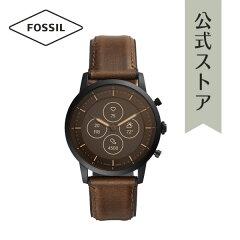 フォッシル スマートウォッチ ハイブリッドHR メンズ 腕時計 FTW7008【2020新作】