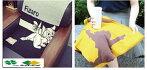 ストール【プーさんorフィガロ】50x120cm【送料無料(沖縄不可)】人気キャラクターあったかマフラー膝掛けひざかけブランケットソファーカバー