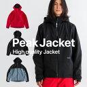 早期購入特典付き【残り僅か!】スノーボードウェア メンズ ジャケット 単品 スキーウェア 43DEGREES 新作 スノボウェア スノーボード ウェア スノボ スノボー ウエア レディース Peak Jacket 2017-18