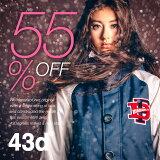 【56%OFF!!】43Degrees スノーボードウェア レディース ジャケット & パンツ 上下セット スノボ ウェア レディース StyleM No.122?141【】【あす