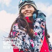 スノーボードウェア レディース スキーウェア 上下 セット 43DEGREES 新作 スノボウェア スノーボード ウェア スノボ スノボー ウエア Botanical(Vest)