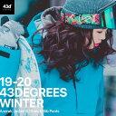スノーボードウェア 43DEGREES スキーウェア 上下セット レディース 2019-2020モデル アノラックジャケット+ストレッチ ビブパンツ セット スノボウェア スノーボード ウェア スノボ ボードウエア 43dの商品画像