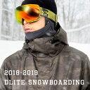 スノーボードウェア メンズ 上下 セット スキーウェア DLITE 新作 スノボウェア スノーボード ウェア スノボ ボード ウェア 大きいサイズ 18-19 送料無料