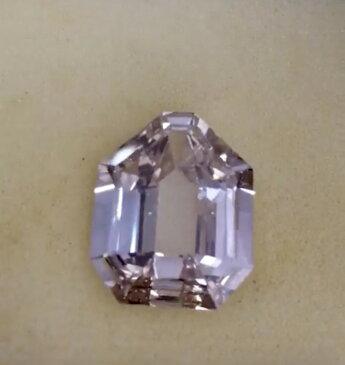 【鑑定書付】27.04ct Fancy pink diamond ルース 裸石/ダイヤモンド/ダイヤ/1ct/VVS/ルース/