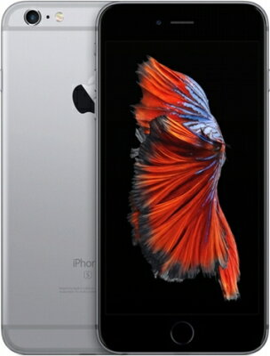 SoftBank【ネットワーク利用制限▲】AppleiPhone6SPlus64GBスペースグレイMKU62J/A【中古】【iPhone】【鈴鹿専売品】【105-170523-07DS】
