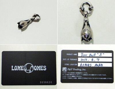 "LONEONES(ロンワンズ)TearBell""S""Kiss&Flowギャランティ有【中古】【ブランドアクセ】【鈴鹿併売品】【144-170809-01AS】"