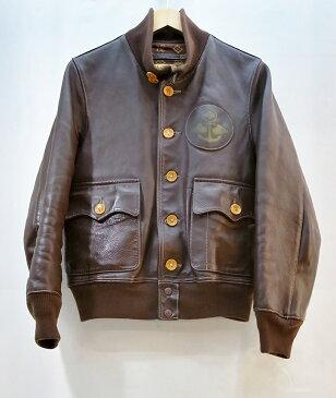 EVISU (エヴィス) 山根水軍 A-1 レザージャケット サイズ:36 カラー:ブラウン【中古】【アメカジ】【鈴鹿 併売品】【1281720OS】