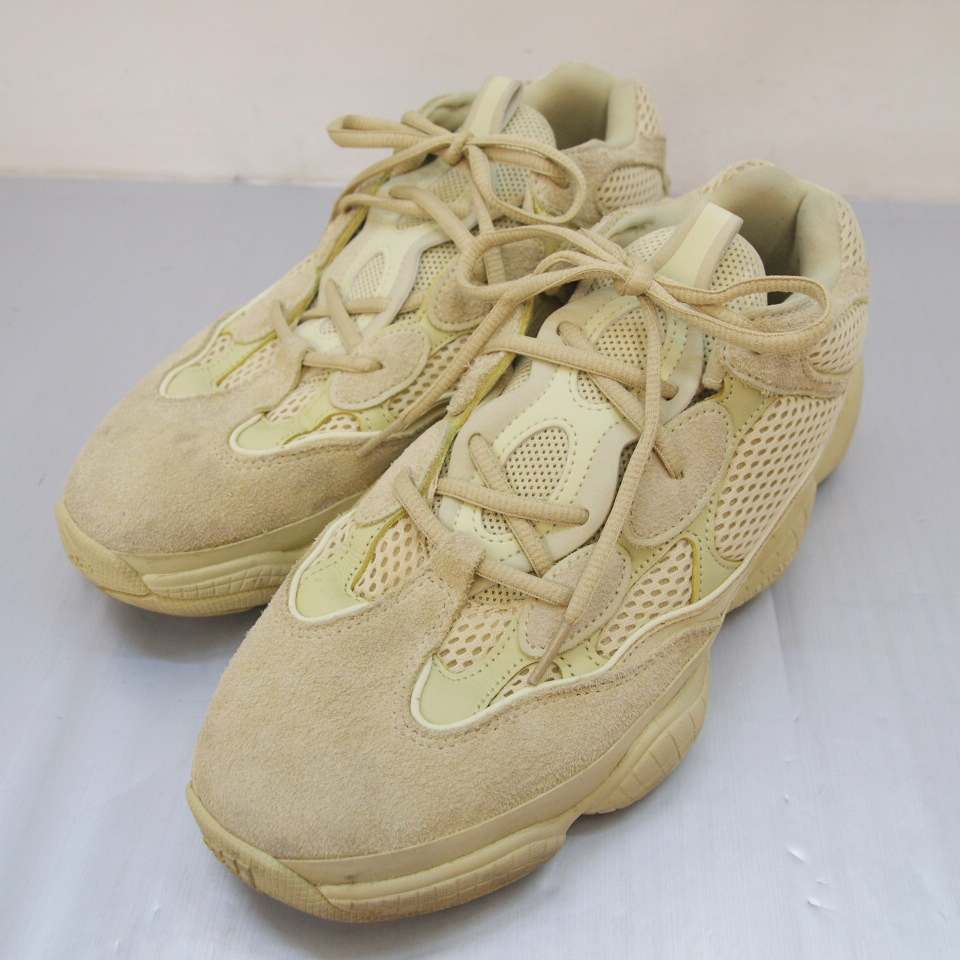 メンズ靴, スニーカー adidas() by KANYE WEST YEEZY 500 DB2966 SUPER MOON YELLOW 10.5(28.5cm) 139 139-190926-01OS
