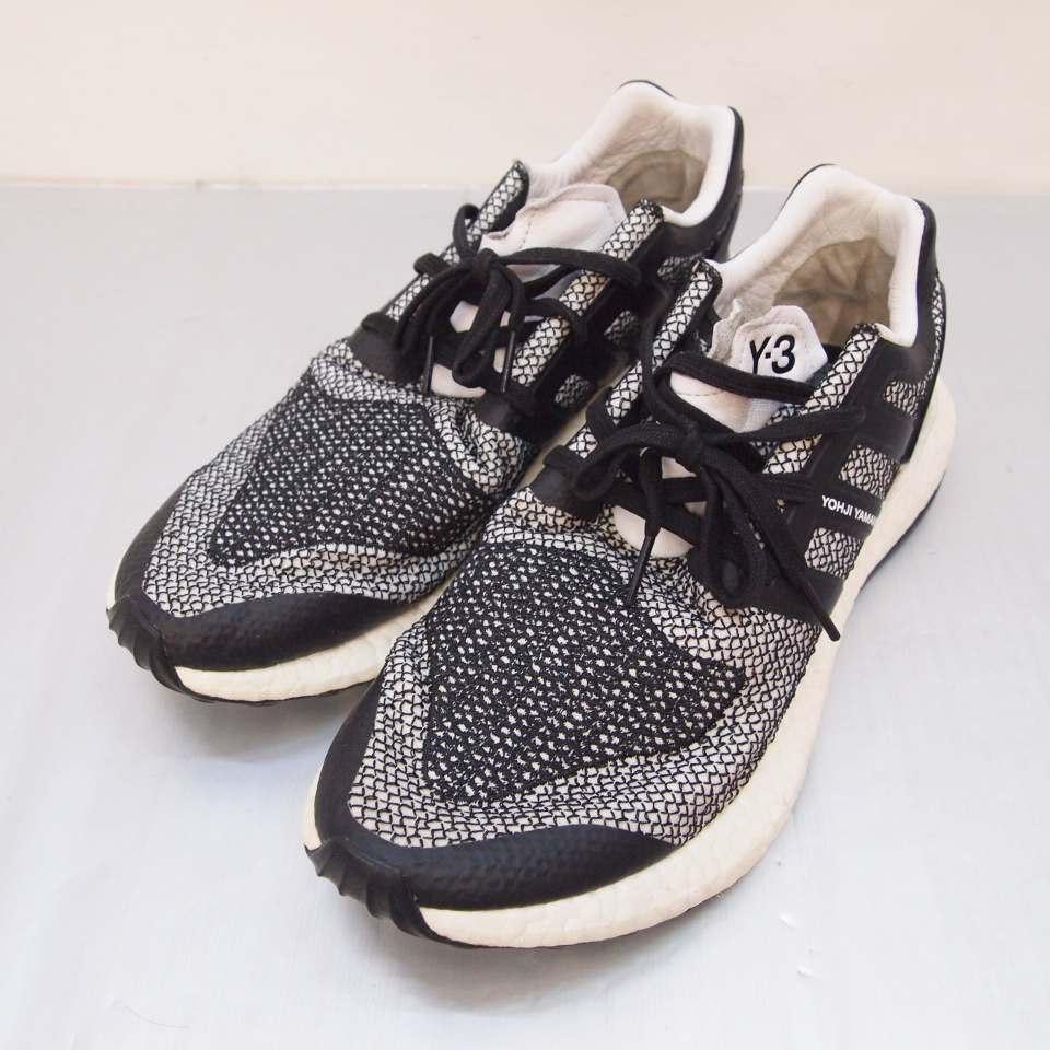 メンズ靴, スニーカー Y-3() adidas PURE BOOST 9.5(27.5cm) 139 139-191011-04OS
