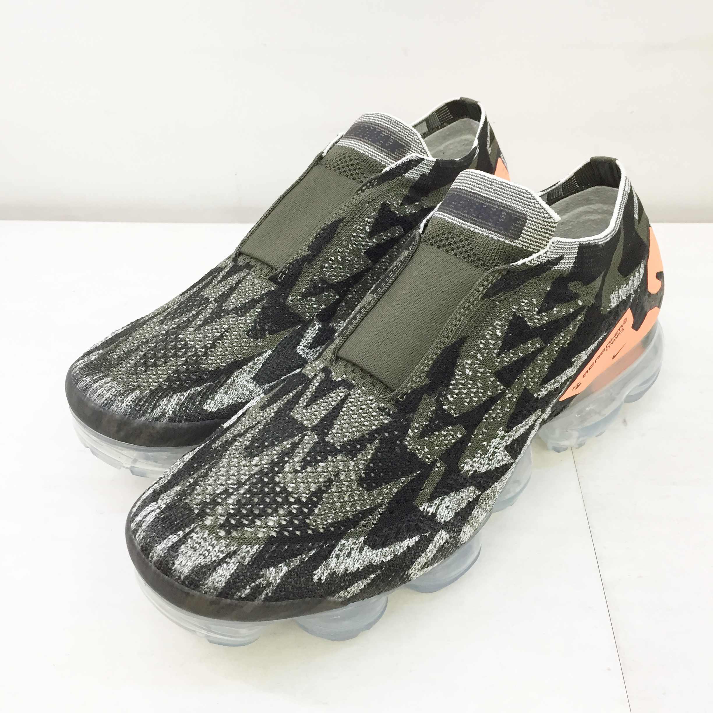 メンズ靴, スニーカー NIKE() AIR VAPORMAX FK MOC 2 ACRONYM AQ0996-001 9(27cm) 139 139-210823-02OS