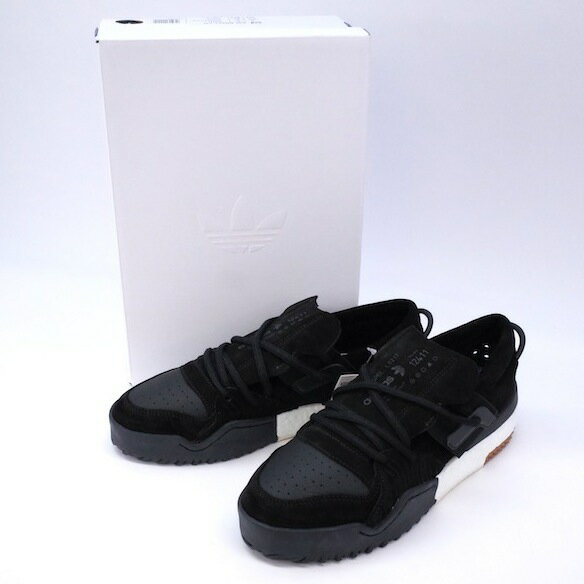 9fde8730fb2e adidas originals by ALEXANDER WANG アディダス アレキサンダーワン AW BBALL LOCBLACK/CBLACK  ビーボール 【27cm】AC6847 BLACK ブラック 黒 スエード× ...