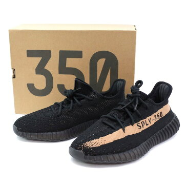 adidas originals by Kanye West アディダス カニエウエスト YEEZY BOOST 350 V2 COPPER 【29cm】BY1605 BLACK ブラック 黒【中古】【スニーカー】【四日市 併売品】【139-180920-01mH】