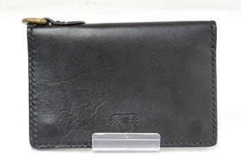 GROKLEATHER(グロックレザー)ウォレット二つ折り財布カラー:BLACK【中古】【財布】【四日市併売品】【138-170924-01TH】