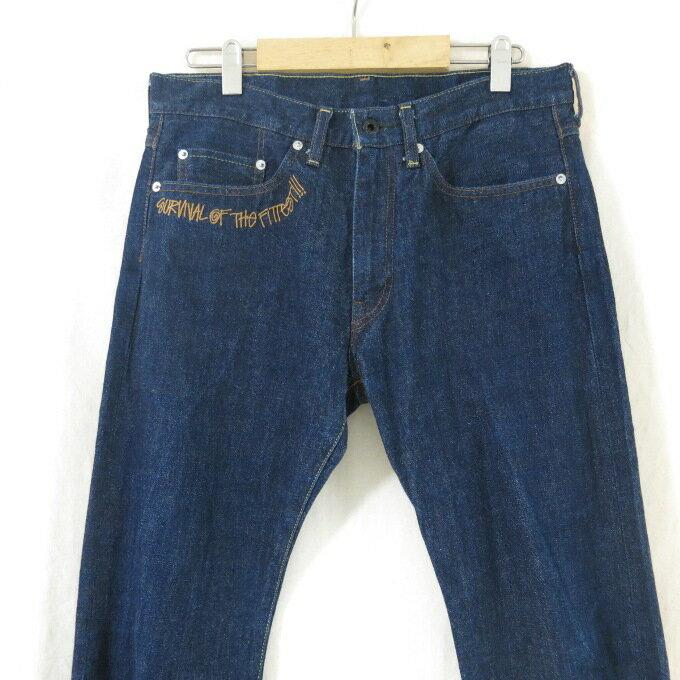 メンズファッション, ズボン・パンツ StussyA BATHING APE Survival of the Fittest Denim Pants SS S 126-180627-09USH