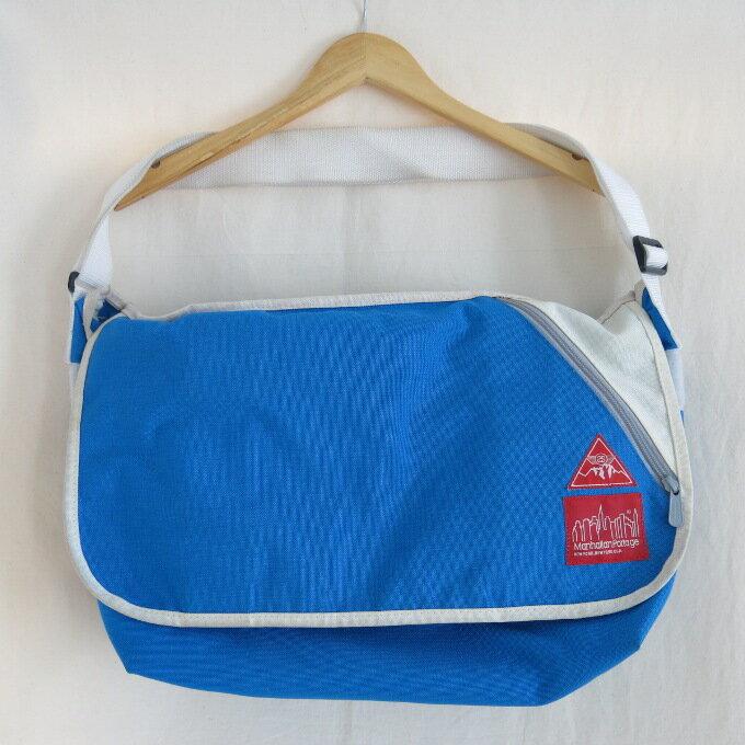 b805163c6b2f STUSSY×Manhattan Portage 1607 Vintage Messenger Bag ステューシー×マンハッタンポーテージ  メッセンジャーバッグ ブルー【中古】【カバン】【四日市 併売 ...