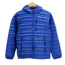 patagonia ウルトラライトダウンフーディー パタゴニア ジャケット  XSサイズ/ブルー/8 ...
