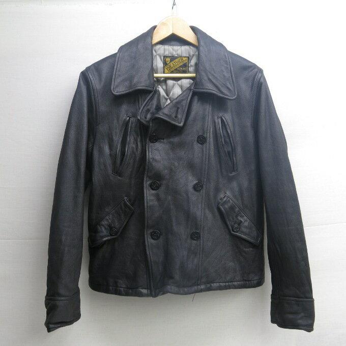 メンズファッション, コート・ジャケット Y2 LEATHER COWHIDE P-COAT 38 128-181101-07USH