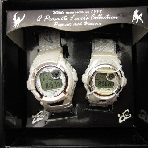 腕時計, ペアウォッチ  CASIO 1999 LOV99A-3 G G-SHOCK DWX-199 G BABY-G BG-099 141 141-200811-03OH