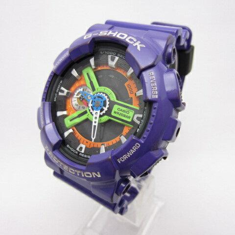 腕時計, メンズ腕時計 CASIO G- G-SHOCK x 20108 GA-110EV-6AJR 141 141-210111-01OH