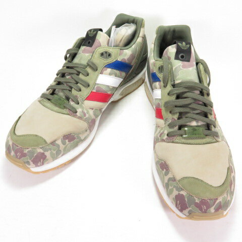 メンズ靴, スニーカー ADIDAS X A BATHING APE ZX 5000 UNDEFEATED BAPE CAMO ZX5000 Q34751 US11.0 29.0cm 139 139-210322-02OH