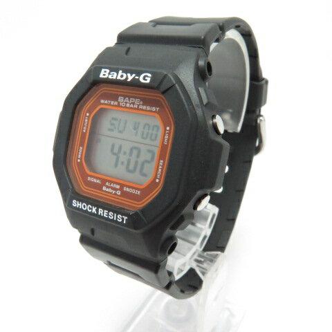 腕時計, レディース腕時計 CASIO BABY-G A BATHING APE G BG-5600BK BABY MILO 06181000 141 141-210404-12OH