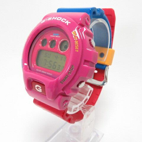 腕時計, メンズ腕時計 CASIO G-SHOCK A BATHING APE x Kid Cudi DW-6900CUDI20-4CR DW-6900FS 141 141-210411-06OH