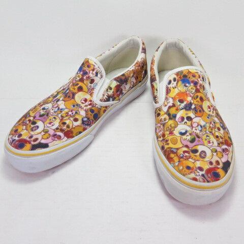 メンズ靴, スニーカー VANS VANS Vault Murakami Takashi Classic Slip-On LX (Skull) VN-0 ZSIGUI US9.0 27.0cm 139 139-210430-05OH