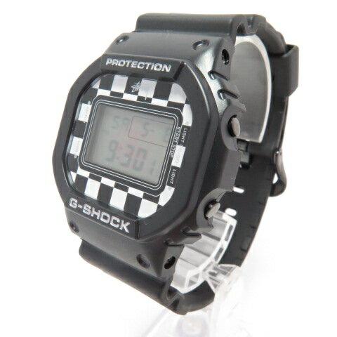 腕時計, メンズ腕時計 CASIO G-SHOCK STUSSY DW-5600VT CHECKER 141 141-210509-02OH