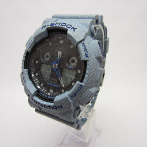 腕時計, メンズ腕時計 G-SHOCK CASIO G-SHOCK G DENIMD COLOR GA-100DE-2A GA-100DE-2AER141 141-200210-05OH