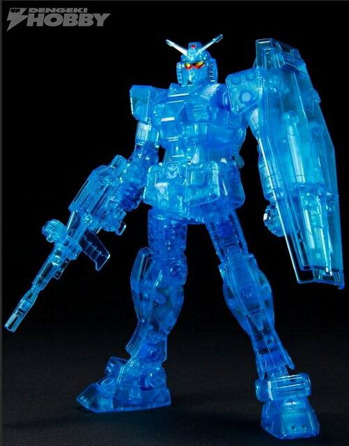 プラモデル・模型, ロボット BANDAI 2014 HG RX-78-2 GUNDAM Ver.G30th CLEAR BLUE Ver. 070-200807-06HH