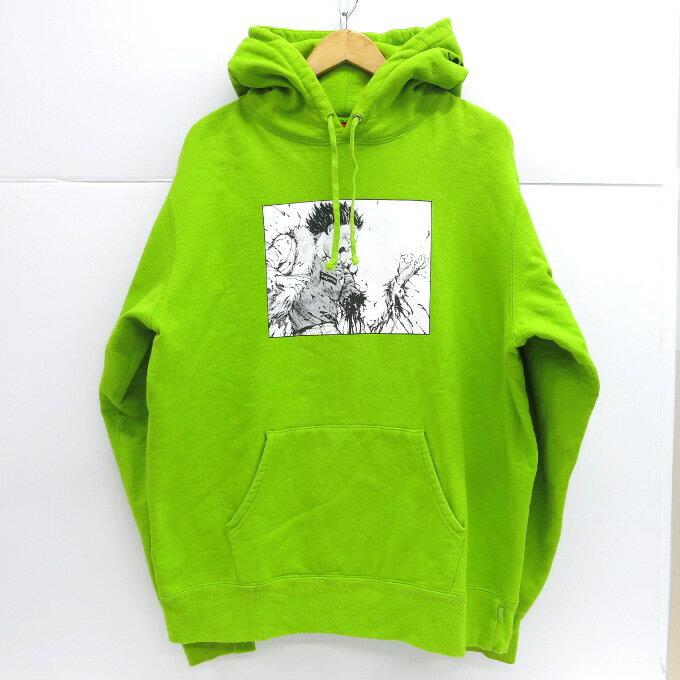 トップス, パーカー SUPREMEAKIRA 17AW Arm Hooded Sweatshirt XL126 126-191031-13USH