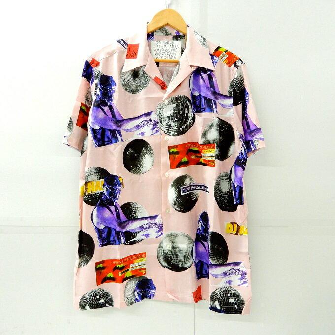トップス, カジュアルシャツ WACKO MARIADJ HARVEYDJ 19AW SS HAWAIIAN SHIRT L127 127-200518-02YH