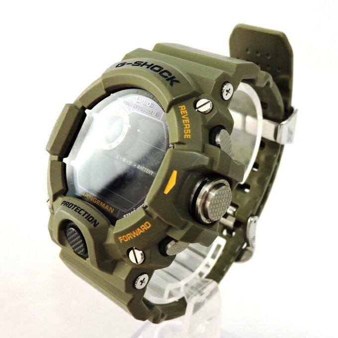 腕時計, メンズ腕時計 CASIO G-SHOCK GW-9400CMJ-3JR RANGEMAN MEN IN CAMOUFLAGE 141 141-200810-08USH