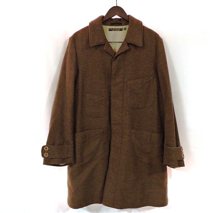 メンズファッション, コート・ジャケット FREE WHEELERS LATE 1800s OVER COAT Duesenberg Herringbone Mix Tweed 1800 (Nep Grained) 42128 128-201030-12USH