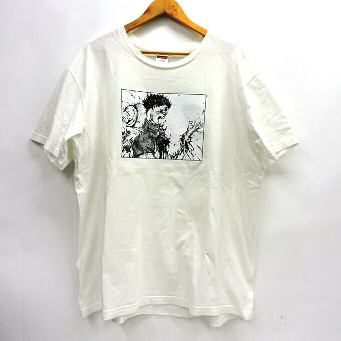 トップス, Tシャツ・カットソー SUPREMEAKIRA 17AW Arm Tee T XL126 126-201102-08USH
