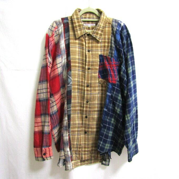トップス, カジュアルシャツ Rebuild by Needles Flannel Shirt M125 DM 125-201124-05USH