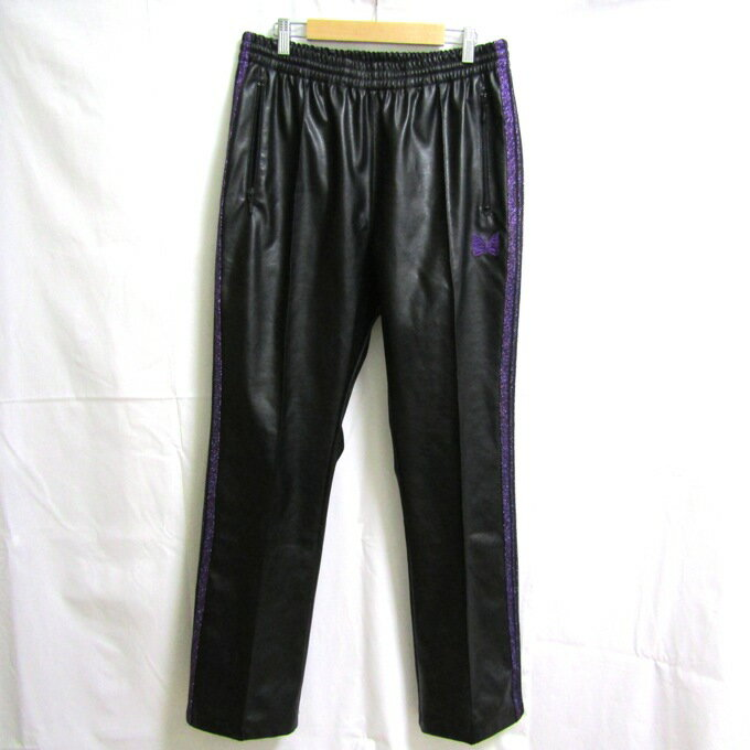 メンズファッション, ズボン・パンツ Needles Narrow Track Pant-Synthetic FK200 L125 DM 125-201201-05USH