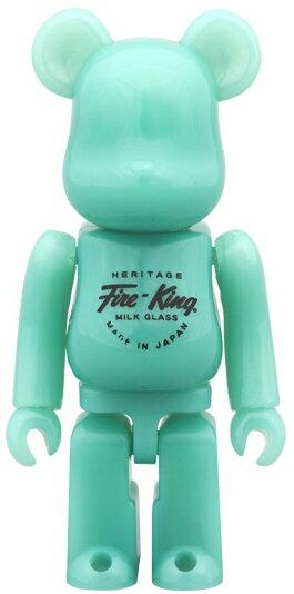 コレクション, フィギュア MEDICOM TOY 100 BERBRICK Fire-King JADE-ITE MEDICOM TOY EXHIBITION 2014 065-210316-37HH