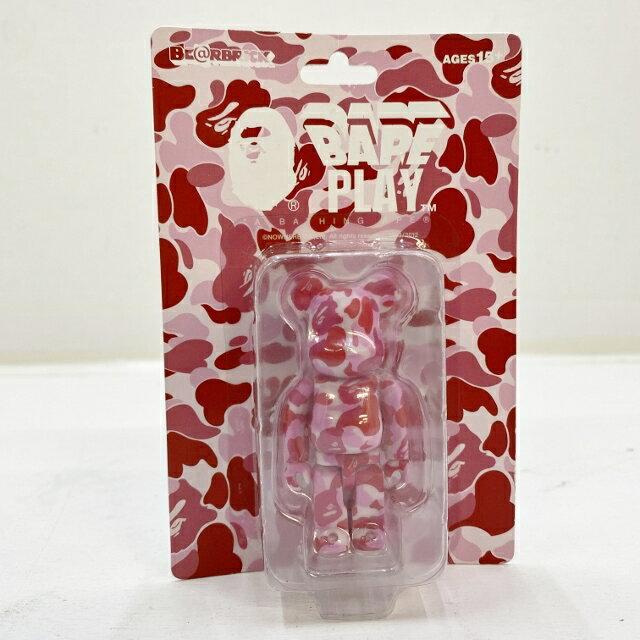 コレクション, フィギュア MEDICOM TOY 100 BERBRICK BAPE CAMO () BAPE PLAY PINK 065-210316-47HH