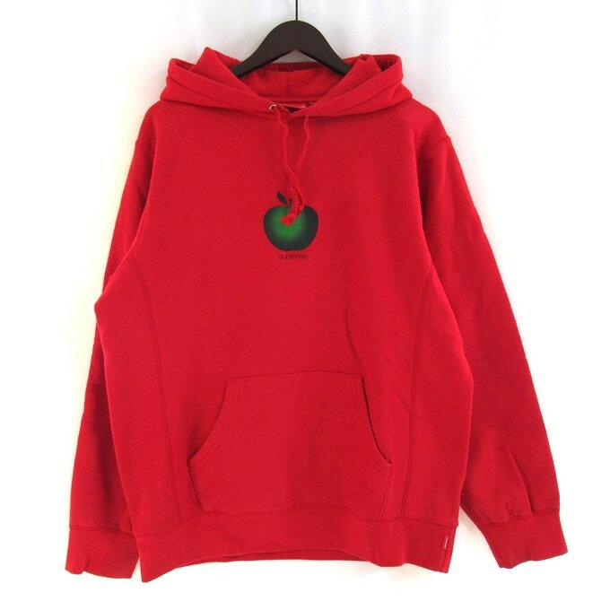 トップス, パーカー SUPREME 19SS Apple Hooded Sweatshirt L126 126-210506-07USH