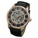 サルバトーレマーラ 腕時計 メンズウォッチ Salvatore Marra 機械式 手巻き ウォッチ SM16101-PGBK