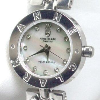 ANNECLARK天然ダイヤモンド入りレディースウォッチAM1020-09【送料無料】【smtb-s】【YDKG-m】