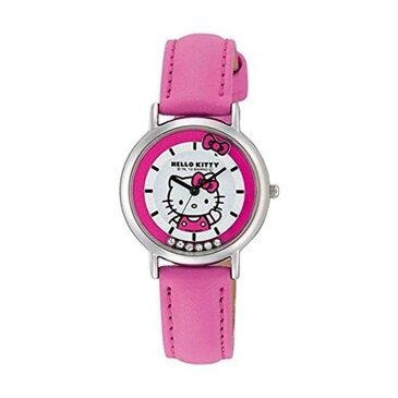 ハローキティ HELLO KITTY 腕時計 ガールズ レディース ウォッチ シチズン Q&Q ピンク CITIZEN HK17-132