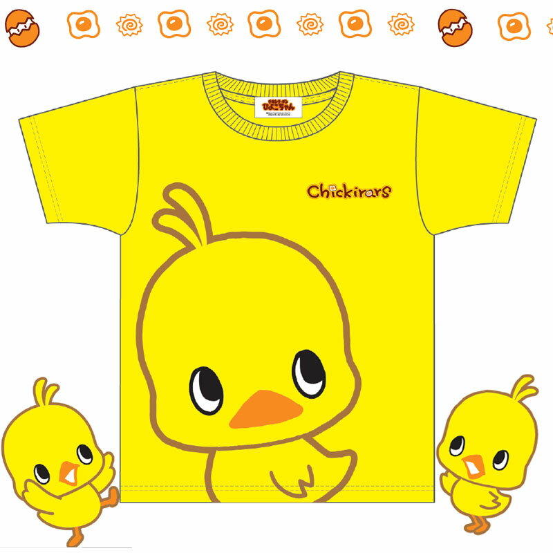 チキンラーメン ひよこちゃん シャツ Tシャツ レディース
