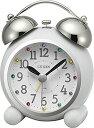 目覚まし時計 置き時計 シチズン リズム時計 アビスコR479 アナログ 4RA479-003 CITIZEN