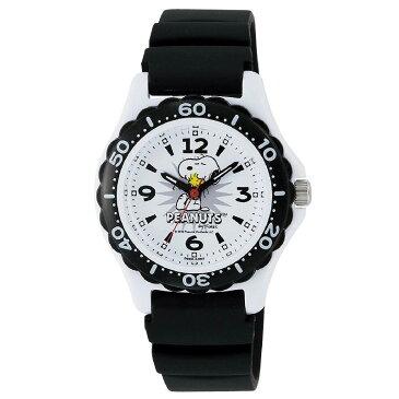 腕時計 ガールズ ボーイズ 子供用 ピーナッツ スヌーピー シチズン Q&Q PEANUTS SNOOPY 10気圧防水 防水時計 ウレタンベルト CITIZEN AA96-0016